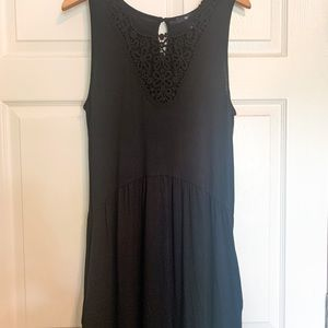 GAP Lace Detail Maxi Dress